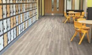 Amtico LVT flooring in school