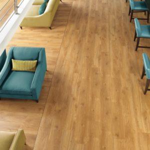 Amtico vinyl flooring in commercial space