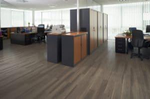 Amtico vinyl flooring in office
