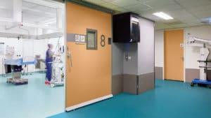 Forbo acoustic vinyl flooring in hospital