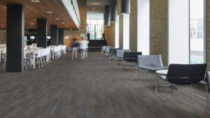 Forbo LVT flooring in university