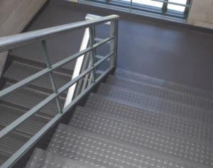 Flexco rubber flooring stair treads