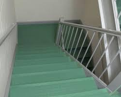 Johnsonite rubber stairs