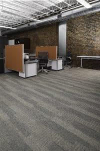 Mannington broadloom flooring in office