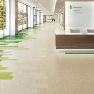Mannington LVT flooring in hospital