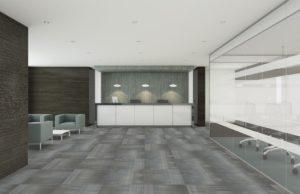Shaw carpet tile flooring in office