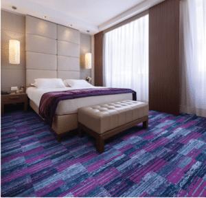 Stanton carpet flooring in hotel
