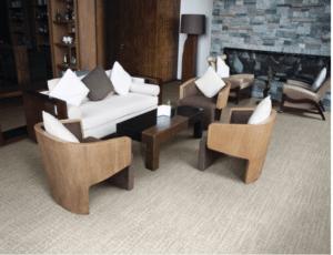 Stanton carpet flooring in lobby
