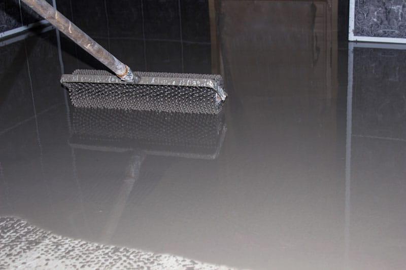 self-leveling flooring